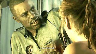 Resident Evil 2 Claire bare Mod Playthrough - Part four