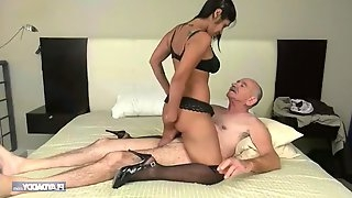 She wants grandpa\'s big dick
