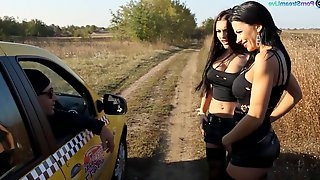 Romanian lesbian babe Shalina Devine is fisting girlfriends anal hole
