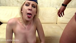 Mr. Andersons Ass Fuck Casting with Aurora, Welcome to Por - mom