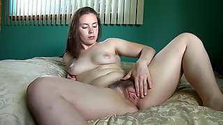 Sammi puts on a sexy striptease by her mirror - Compilation - WeAreHairy