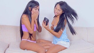 Staggering Ambar Suarez sharing some sex toys involving Sofia Suarez