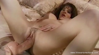 Big Toy For Blackness Slut Wifey Playing Alone While Horny