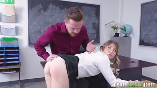 Pupil babe Vienna In the best of health has an affair with her handsome teacher