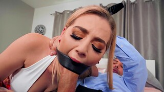 Big Daddy wife Blake Blossom gets estimated fucked by husband's friend
