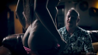 Excitable young and beautiful body of pretty adult stepdaughter Gia Derza