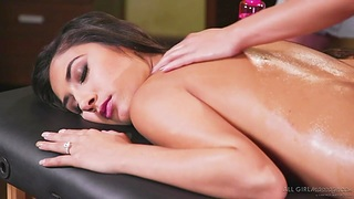 Jill Kassidy with the addition of Gianna Dior are making reverence with one pretty palpate girl