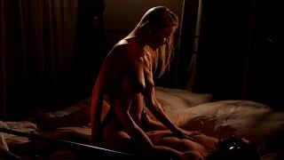 Erotic lovemaking with luring wife Venera Maxima in stockings