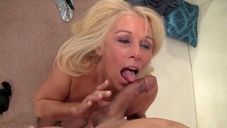 Cock hungry age-old women treasure taking hard cocks in their mouth and pull off nice blowjobs
