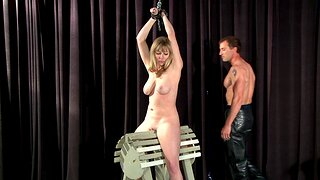 BDSM amulet pic close to Adrianna Nicole being a slave - HD