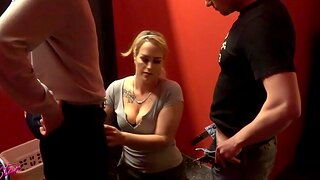German homemade triune blowjob mmf with cum in mouth milf