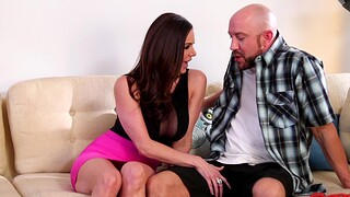 Horny man with a chubby dick fucks grungy pussy be worthwhile for sexy MILF Kendra Lust