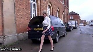Unfaithful british mature lady sonia displays her massive balloons